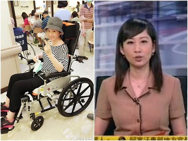 鳯凰衛視台籍女主播劉珊玲。(圖/翻攝自劉珊玲微博、鳯凰衛視)