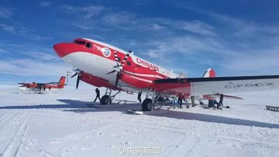 「雪鷹601」完成東南極冰蓋關鍵區航空探測