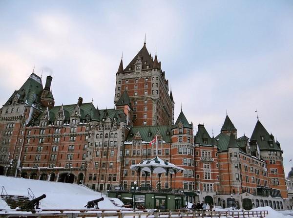 《鬼怪》孔劉、金高銀定情地 魁北克絕美「芳堤娜城堡」