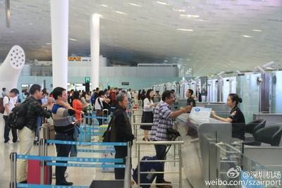香港機場客運量大跌 客改往深圳機場!