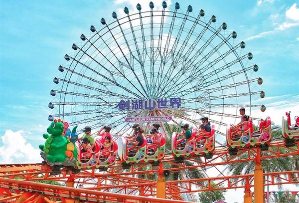 【廣編】劍湖山世界雞年大雞大利! 賞花看展免費(圖/劍湖山提供)