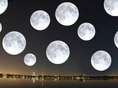 科學家發現「天上曾有20個月亮」 現在這顆把其他都吃了