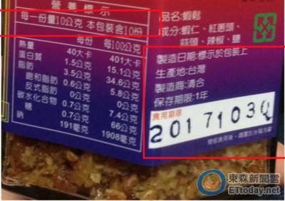 網購年節食品標示2成違規 「飛魚卵泡菜」名店4件佔最多