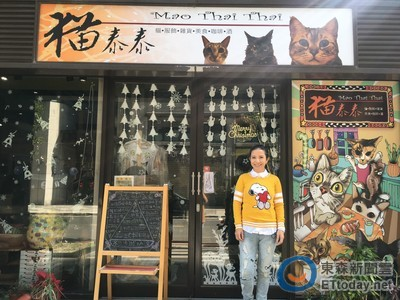 她月燒53萬開貓餐廳 兼差硬撐原因是「想領養更多」
