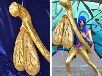 雕製「金皮陰蒂」肉褶清晰 藝術家:接受它,女性會更開心