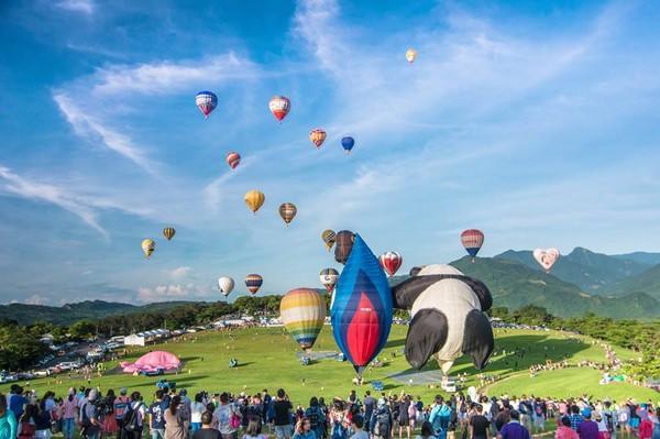 今年暑假就到台東玩!「2017台灣熱氣球嘉年華」時間揭曉
