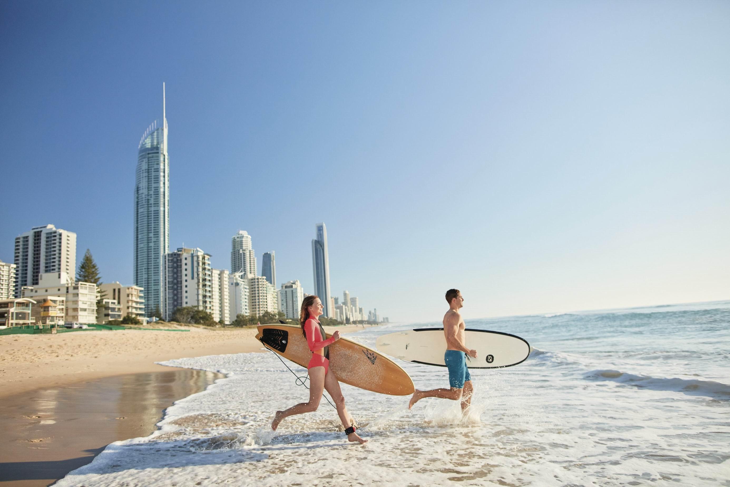 澳洲昆士蘭布里斯本黃金海岸(圖/昆士蘭州旅遊局提供)