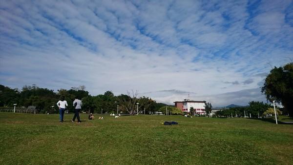 圓山花博公園。(圖/北市工務局提供)