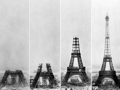 見證世界奇觀是如何建成的?老照片帶你重返「工地現場」