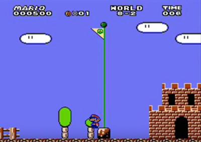 超級瑪利歐的「最弱玩法」 看完後老媽問我為啥跪在鍵盤上