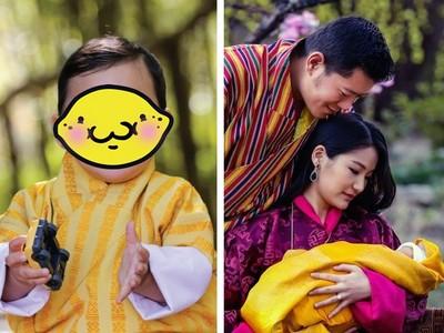 不丹皇室寶寶嘴邊肉溢出 萌感統治世界只差擊敗喬治小王子