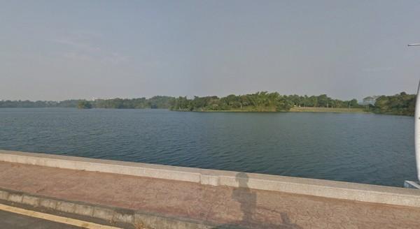 嘉義市蘭潭。(圖/Google Map)
