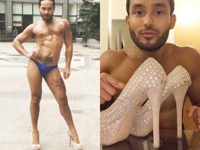 菲男穿「15CM跟鞋」訓練性感走姿 替選美佳麗加油不怕被歧視