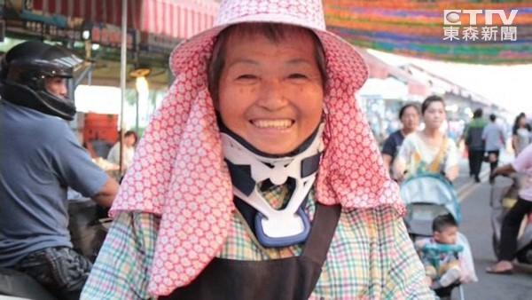 車禍昏迷3個月..醒來老公傷心離世 番茄嬤蹣跚推輪椅叫賣