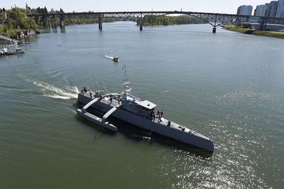 美軍計畫打造2級別無人戰艦