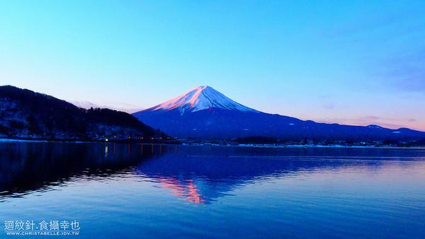 在河口湖地區拍攝富士山的幾個地點。(圖/迴紋針‧食攝幸也提供)