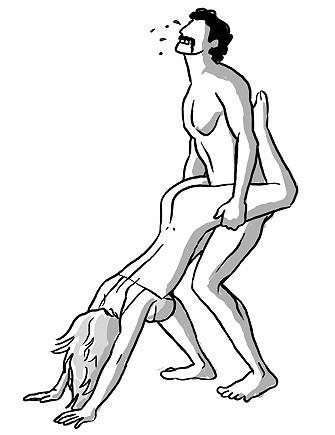 7種堪稱最怪的性愛姿勢