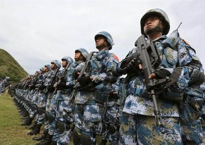 解放軍海軍陸戰隊擴編成軍