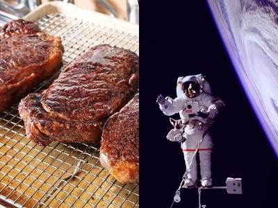 「太空的味道」像牛排?宇航員:一聞嘴巴饞到不行
