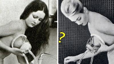 100年前「罩杯升級機」,玻璃罩吸奶噴水→變美胸