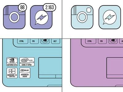 iPhone紅點讓你煩躁?插圖將世界劃分為二,你是哪一種?