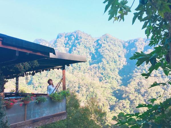 超療癒!苗栗南庄夢幻景觀咖啡廳 放眼望去是翠綠山林