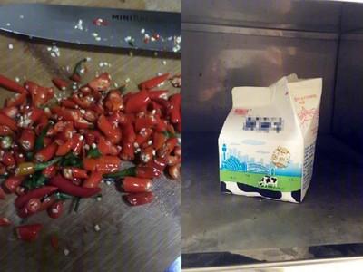 報復社區出沒的偷奶賊,廚師用「魔鬼辣椒」熬了一罐調味奶…