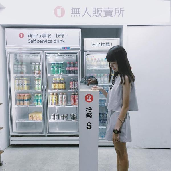 ▲無人販售所(誠實商店)台南西市場。(圖/IG@eating1222提供,請勿翻攝)