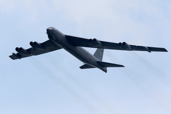 B-52戰略轟炸機。(圖/路透社)