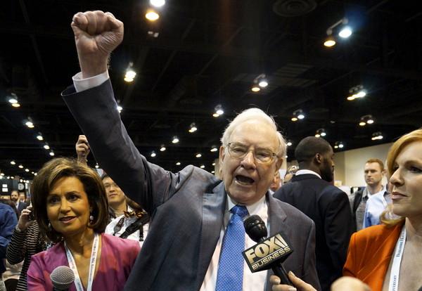 ▲波克夏公司董事長巴菲特(Warren Buffett)。(圖/路透)