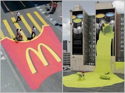「超有才」創意廣告,保險公司對愛車潑漆是想嚇死誰…