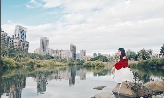 中都愛河濕地公園(圖/網友shih su提供,請勿隨意翻拍,以免侵權。)
