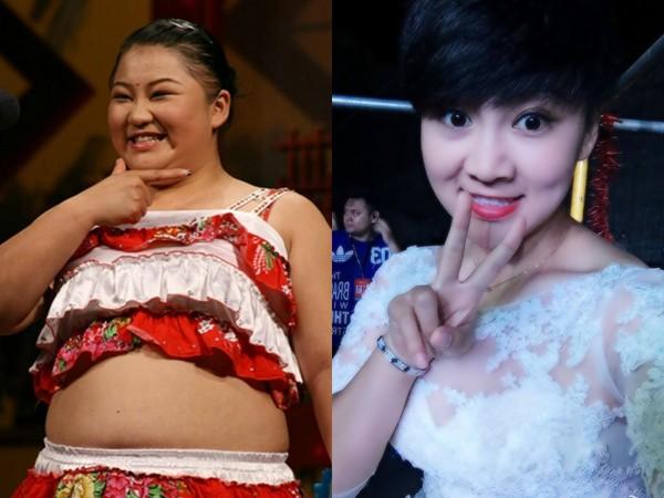 ▲趙丹過去體重115公斤,為了健康和老公減肥,成功變女神。(圖/翻攝自趙丹微博、陸網《鳳凰網》)