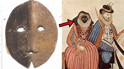16世紀驚悚時尚「怪人面具」 貴婦戴上能防曬...但代價是變啞巴