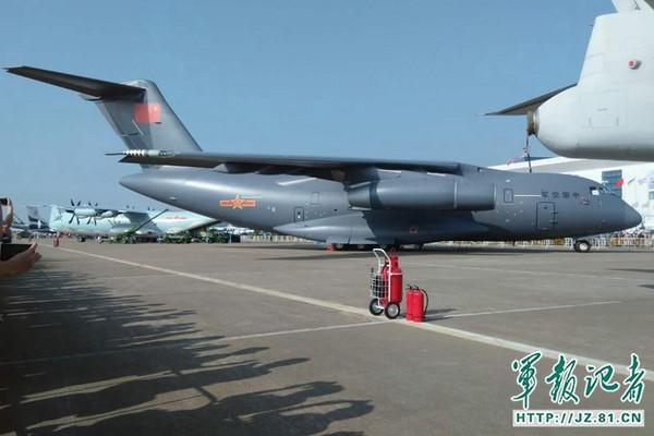 運-20(Y-20)運輸機。(圖/翻攝中國國防部)