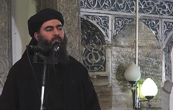 伊斯蘭國領袖巴格達迪(Abu Bakr al-Baghdadi)。(圖/達志影像/美聯社)