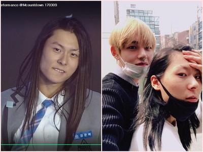 男版《101》長髮咬唇少年是誰?他正是…BTS「V的女朋友」
