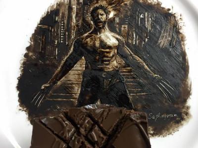 做餐廳外場獲靈感 26歲的他抹出「巧克力醬羅根」開班授課