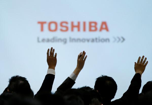 ▲東芝TOSHIBA示意圖。(圖/路透)