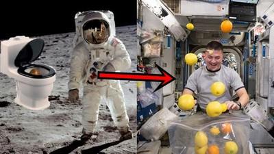 太空人生活3大「噁爛真相」 屎尿滿天飛、吃到陰毛都是小Case