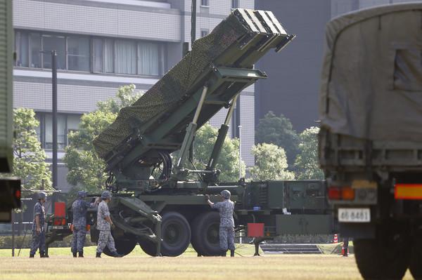 因應北韓的飛彈威脅,日本防衛省的「愛國者」防空導彈早就部署好了!(圖/達志影像/美聯社)
