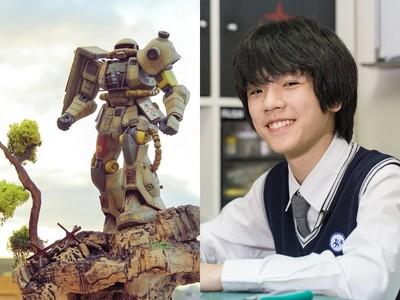 《OVER WAR》奪世界冠軍模型!13歲邱顯鈞:在這裡終於找到同好