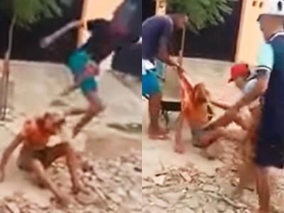 「打死這娘砲!」變性人遭厚木磚砸頭 群眾冷眼看她斷氣