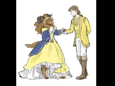 如果野獸是公主?《美女與野獸》性轉後劇情更加萌萌噠!