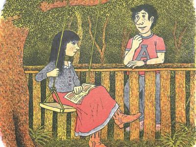 妻子不願解開「脖子上的綠緞帶」 恐怖繪本讓西方孩子怕到成年