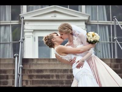 仙氣逼人女同志婚紗照 像看一個只有公主的童話故事