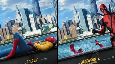 《蜘蛛人:返校日》海報被讚「完美」 但…《死侍2》略神一籌