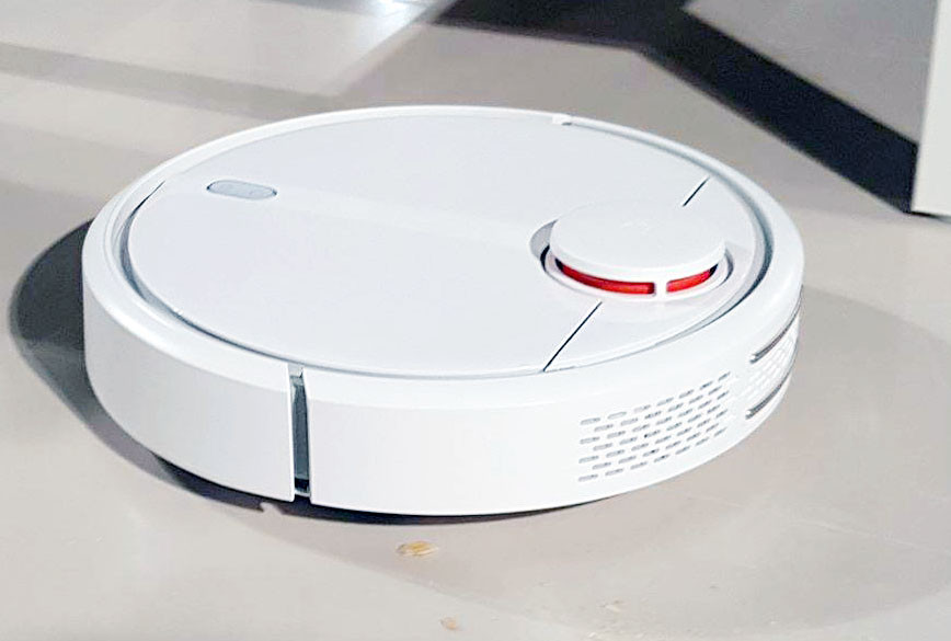 小米將在五都開店、「米家掃地機器人」30天要拚1億元業績(圖/記者洪聖壹攝)