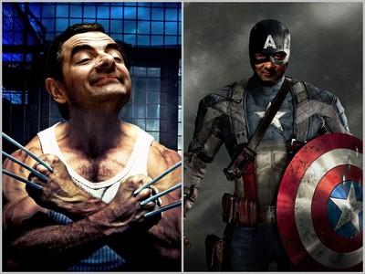 豆先生變身超級英雄,羅根、美隊用「喜感」殺人…