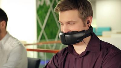 大嗓門Out!可濾音的科技口罩發表